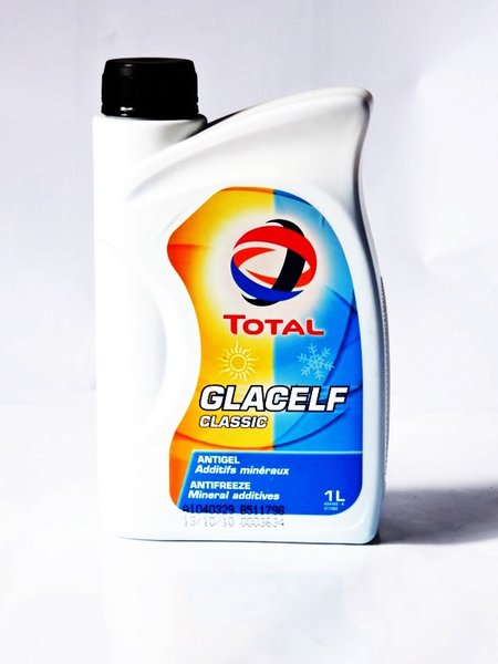 Total Glacelf Classic 1L, антифриз концентрат